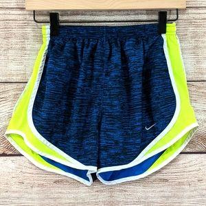 Nike Dri-Fit lined running shorts